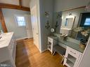 Master Bath with Dressing Table - 6406 CARTER LN, MINERAL