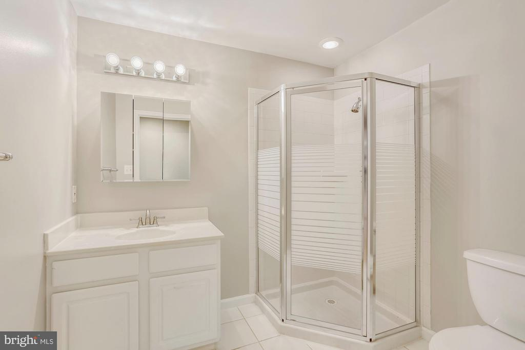 Basement Full Bathroom - 47208 REDBARK PL, STERLING