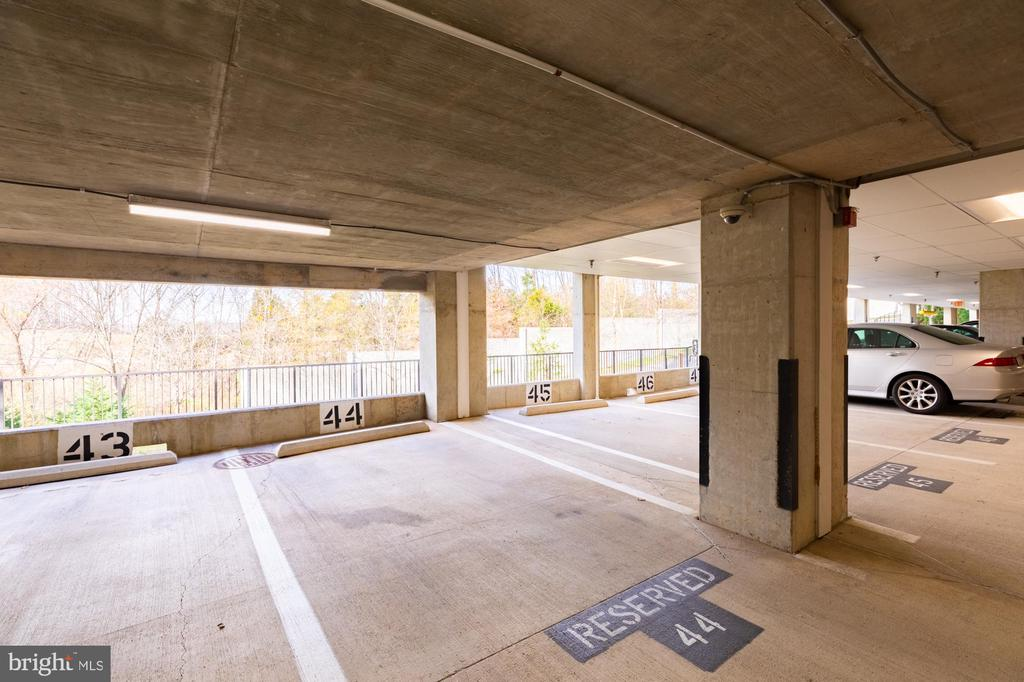 Reserved covered parking for you in Space #44 - 11326 ARISTOTLE DR #4-303, FAIRFAX