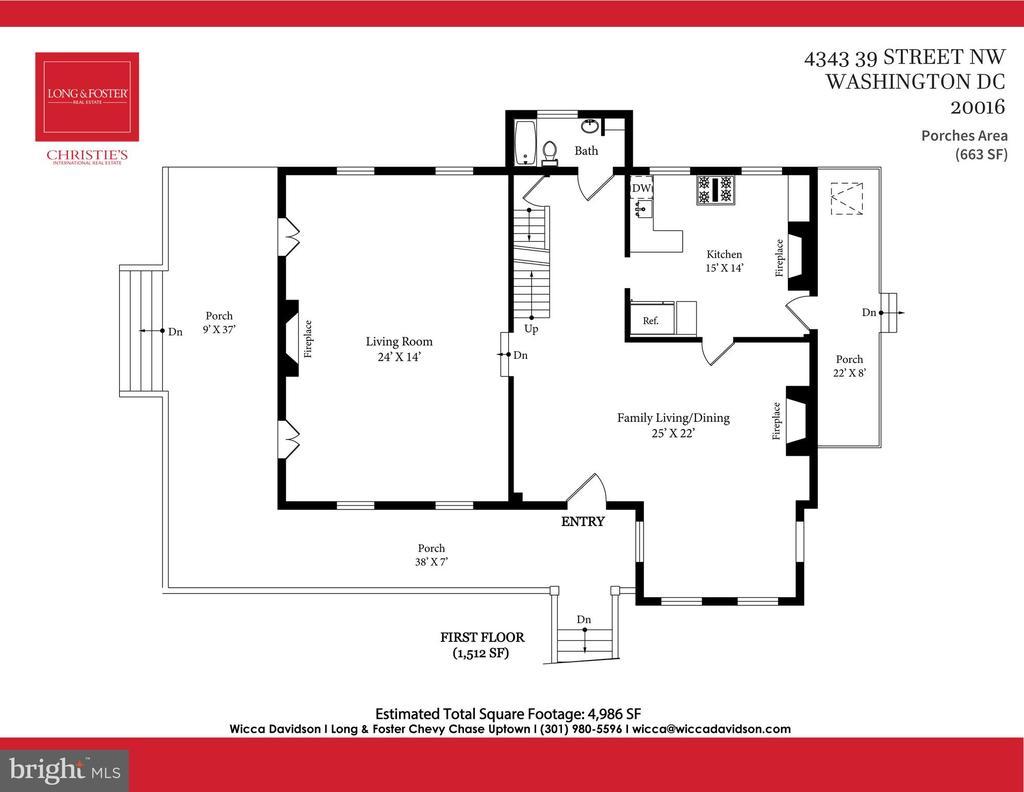 First floor - 4343 39TH ST NW, WASHINGTON