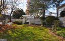 Side yard - 4343 39TH ST NW, WASHINGTON