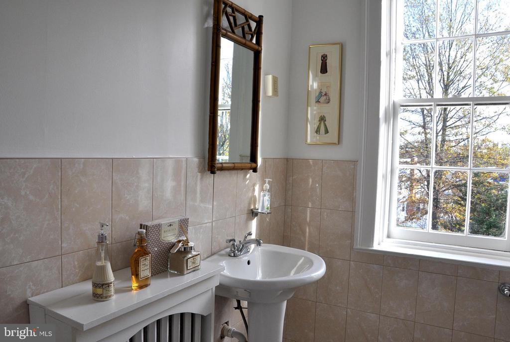 Hall bath on second floor - 4343 39TH ST NW, WASHINGTON