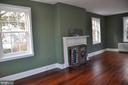 mantel in very large master bedroom - 4343 39TH ST NW, WASHINGTON