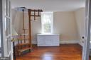 Sitting room with spiral stairs to tower room - 4343 39TH ST NW, WASHINGTON