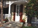 Steps onto wrap-around porch - 4343 39TH ST NW, WASHINGTON