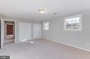 Bedroom 4 with two closets! - 10300 WOOD RD, FAIRFAX