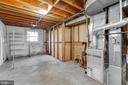 Tons of storage in unfinished utility room - 10300 WOOD RD, FAIRFAX