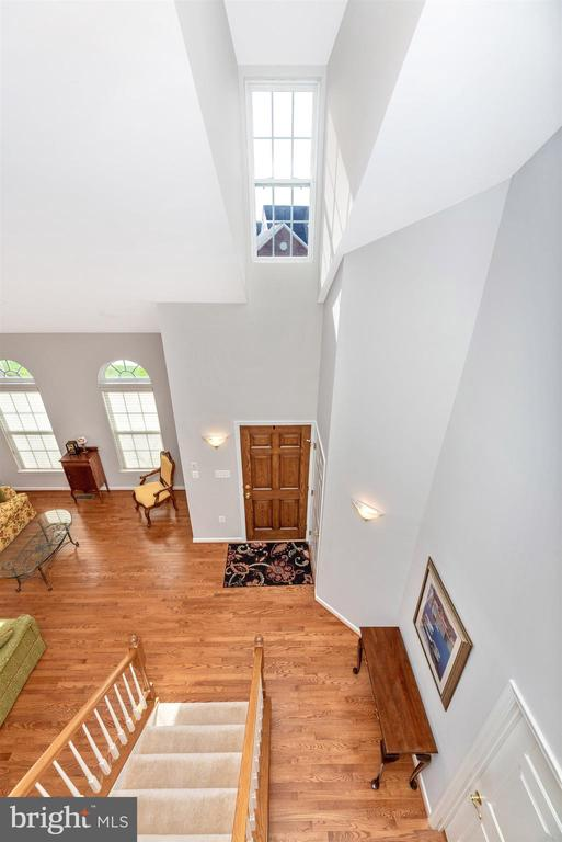 Foyer From Above - 10574 EDWARDIAN LN #131, NEW MARKET
