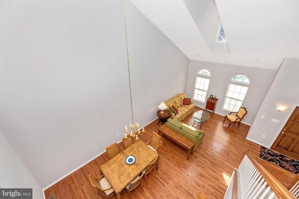 Living/Dining Room From Above - 10574 EDWARDIAN LN #131, NEW MARKET