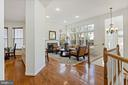open floor plan - 20660 SHOAL PL, STERLING