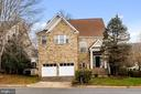 situated on a cut de sac backing to trees - 20660 SHOAL PL, STERLING