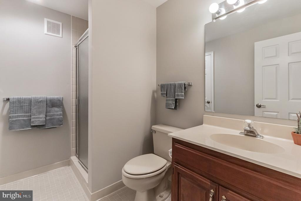 Full bath in the basement - 31 N OAKLAND ST, ARLINGTON