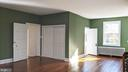 Master bedroom toward master bath - 4343 39TH ST NW, WASHINGTON