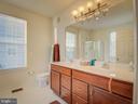 Master Bathroom - 20375 BELMONT PARK TER #118, ASHBURN