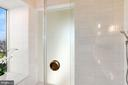 Owner's shower with more city views - 1515 15TH ST NW #708, WASHINGTON