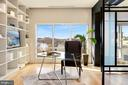 Dedicated office space off of living room - 1515 15TH ST NW #708, WASHINGTON