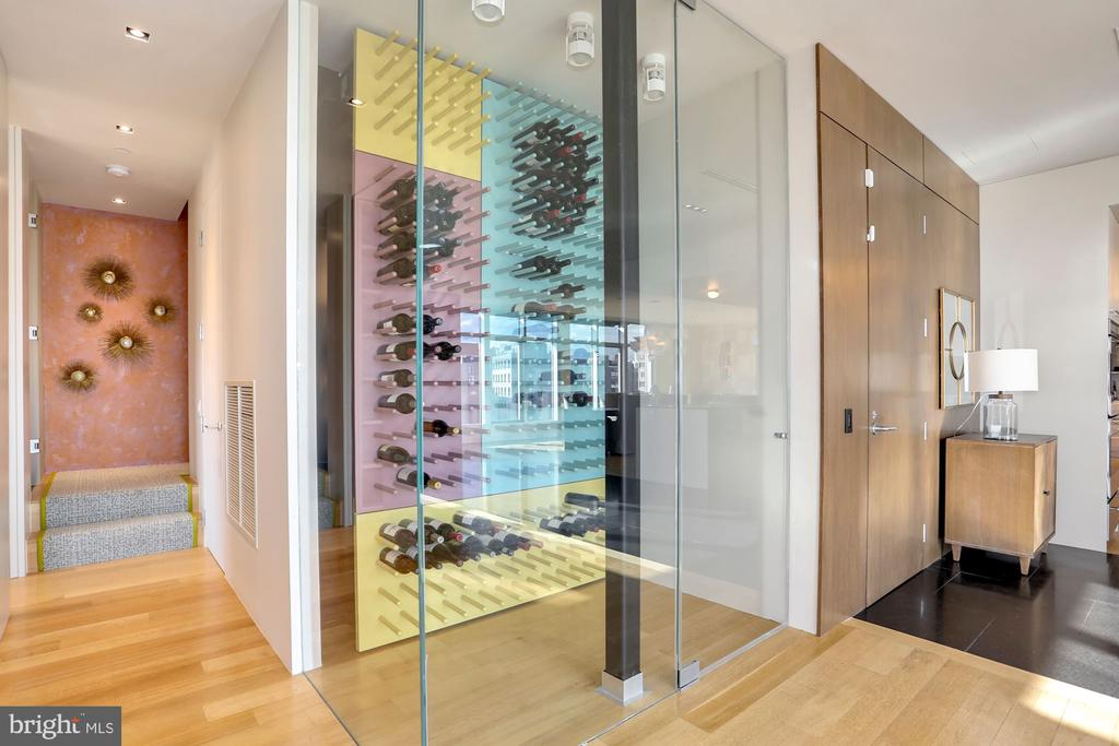 Temperature controlled wine room - 1515 15TH ST NW #708, WASHINGTON