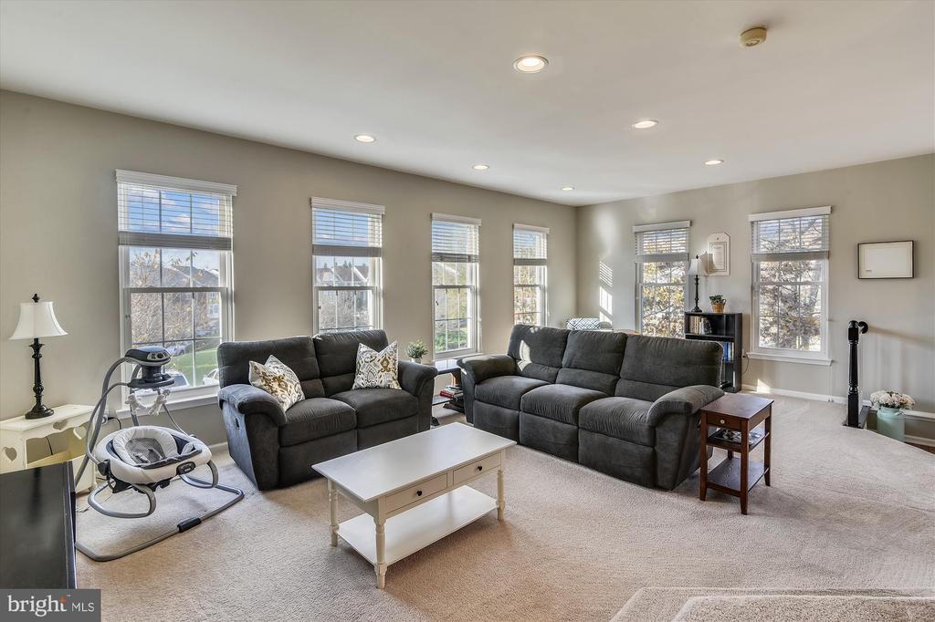 Family room - 20872 DERRYDALE SQ, STERLING