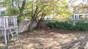 Corner of yard with play area - 4343 39TH ST NW, WASHINGTON