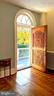 Antique Filipino mahogany door. - 4343 39TH ST NW, WASHINGTON