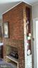 Brick fireplace with shelves - 4343 39TH ST NW, WASHINGTON