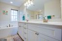 Primary bathroom - 628 LATANE DR, COLONIAL BEACH