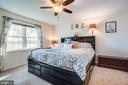 Primary bedroom - 628 LATANE DR, COLONIAL BEACH