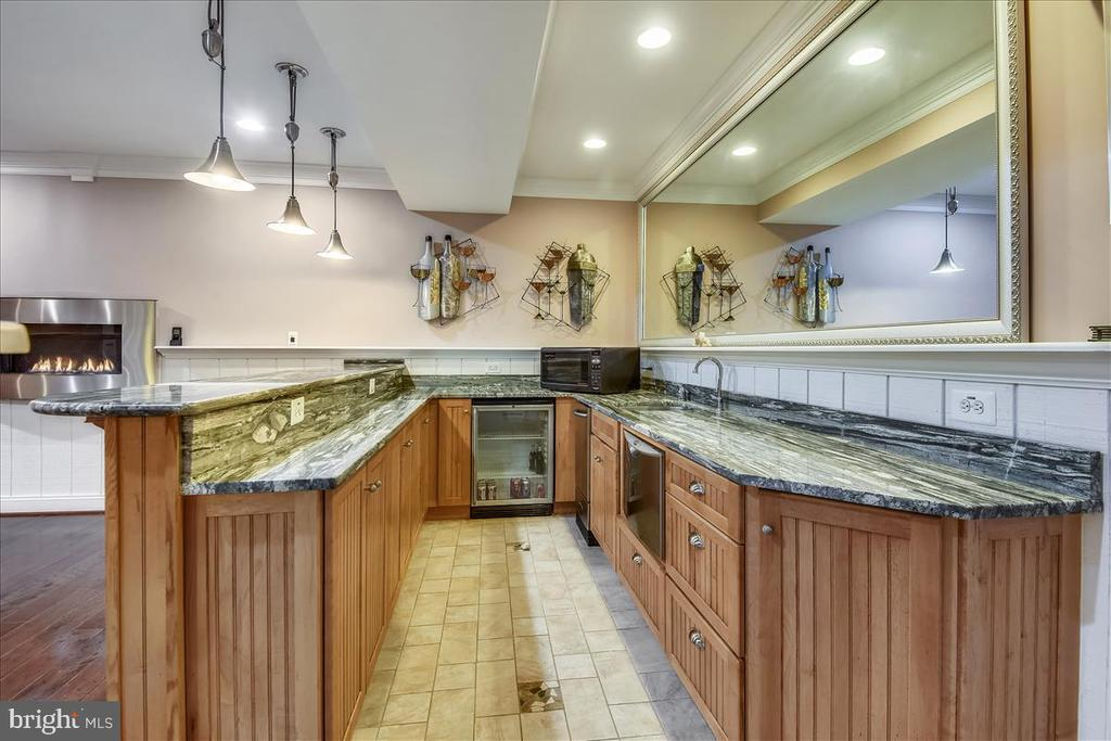 Lower Level Wet Bar - 25542 MIMOSA TREE CT, CHANTILLY