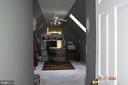 Bonus room on second floor off master bedroom - 8006 CAMPFIRE LN, FREDERICKSBURG