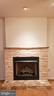 Granite/Stone/Marble gas fireplace - 11503 MAPLE RIDGE RD, RESTON