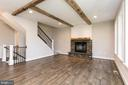 Imagine relaxing by this fire! - 6789 ACCIPITER DR, NEW MARKET