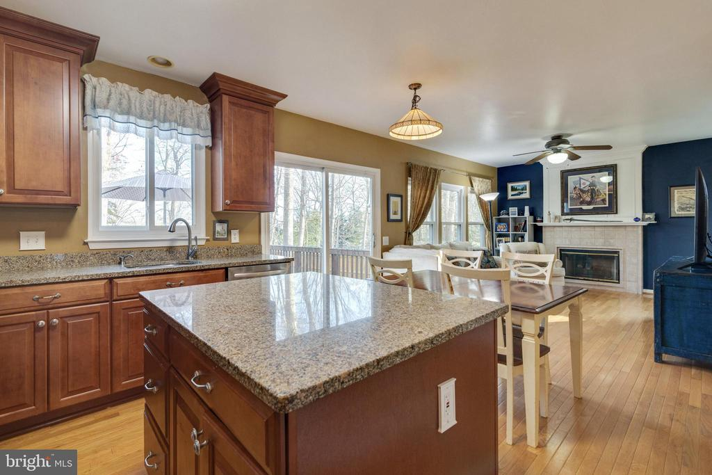 Kitchen to Family Room - 14859 BUTTONWOOD CT, WOODBRIDGE