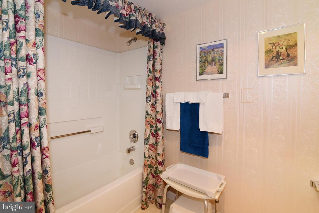 Master bath w/separate tub. - 19385 CYPRESS RIDGE TER #817, LEESBURG