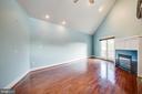 1113 Primary Suite Bedroom with Gas Fireplace - 1113 CAROLINE ST, FREDERICKSBURG