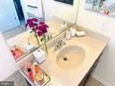 Dual sink vanities give everyone their space - 43374 TOWN GATE SQ, CHANTILLY