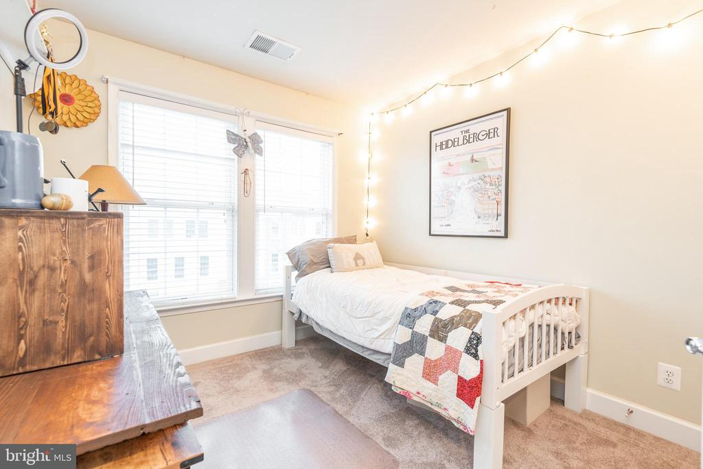 One of two nicely sized secondary bedrooms - 194 STAR VIOLET TER SE, LEESBURG