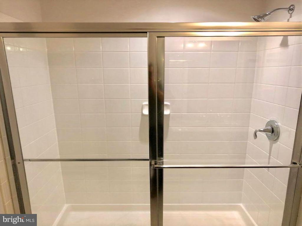 Shower doors in Rec Room bathroom - 43374 TOWN GATE SQ, CHANTILLY