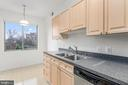 Enjoy the view when preparing meals! - 19355 CYPRESS RIDGE TER #405, LEESBURG