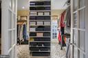 Owner's Walk-In Closet - 2446 KALORAMA RD NW, WASHINGTON