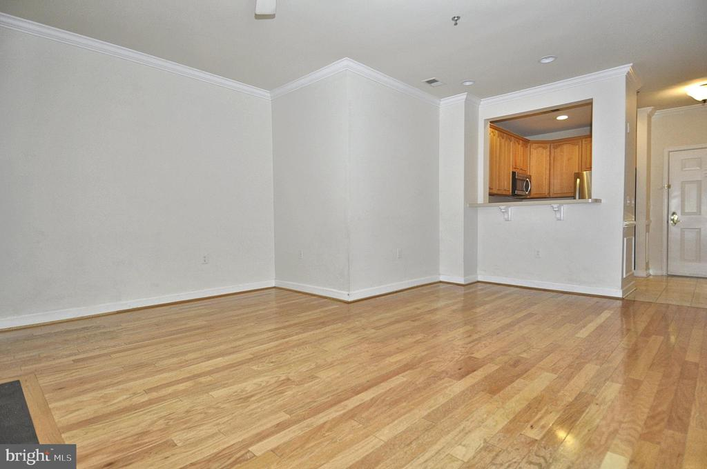 Gleaming hardwood flooring throughout - 2310 14TH ST N #205, ARLINGTON