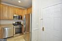 Open Kitchen w/ NEW stainless steel appliances - 2310 14TH ST N #205, ARLINGTON