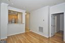 Hardwood flooring throughout - 2310 14TH ST N #205, ARLINGTON