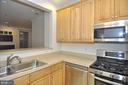 Ample Kitchen storage w/ 42