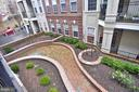 View of the newly updated landscaping - 2310 14TH ST N #205, ARLINGTON