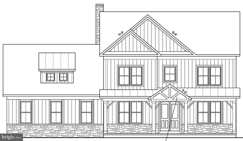 Alternate Look. Garage will be front entrance. - 6789 ACCIPITER DR, NEW MARKET