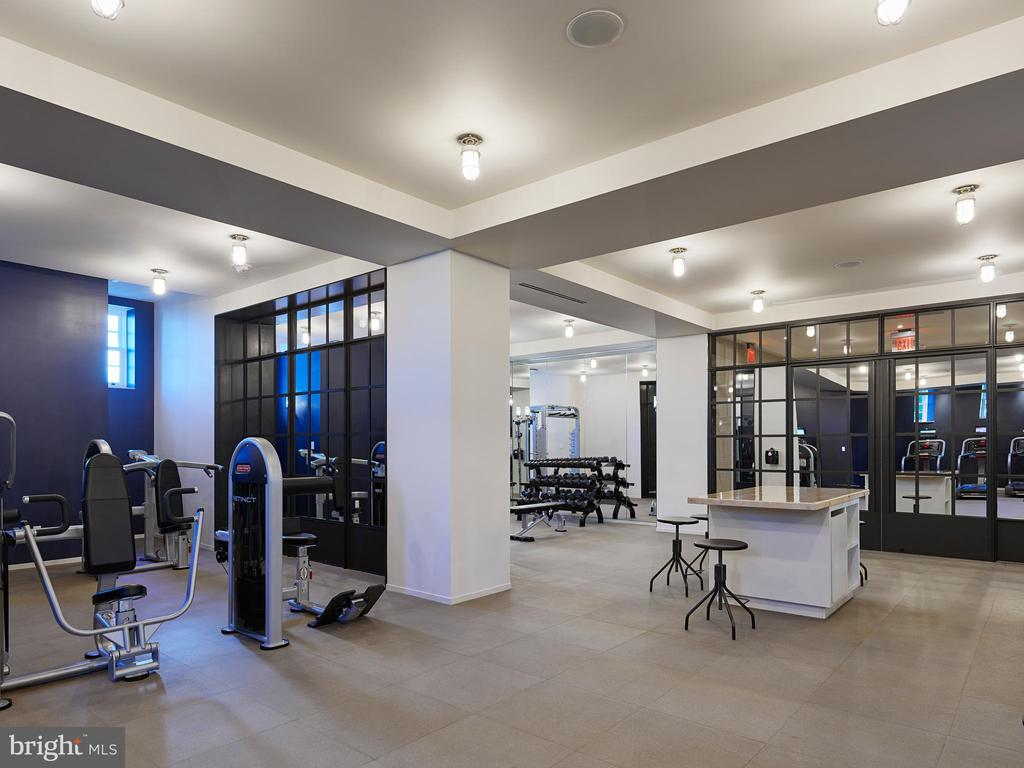 2,000 Square Foot Fitness Room - 2660 CONNECTICUT AVE NW #6C, WASHINGTON