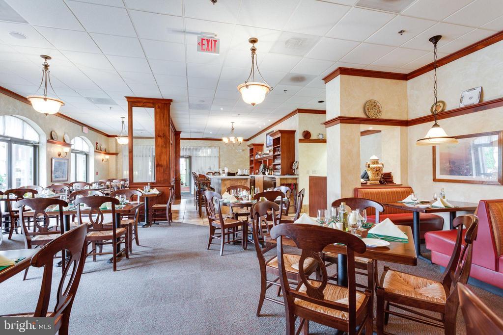 Terrific restaurant on property - 19385 CYPRESS RIDGE TER #605, LEESBURG