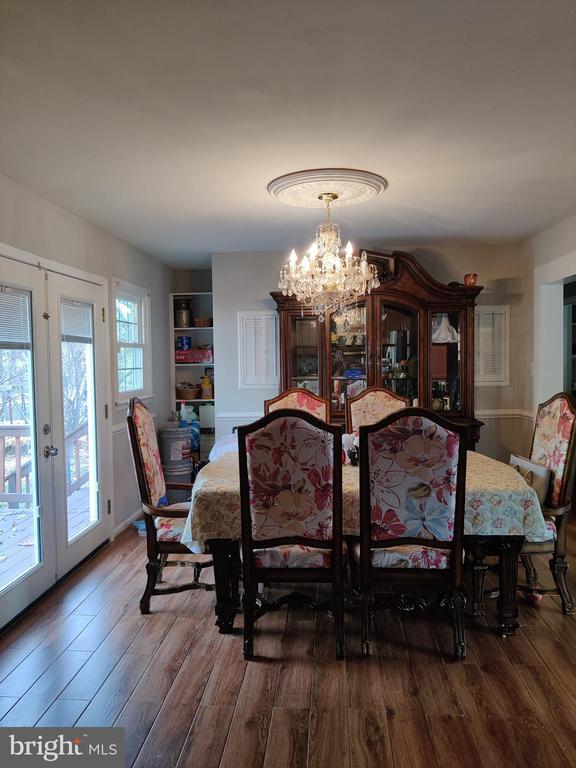 Dinning room combo with kitchen - 1516 FEATHERSTONE RD, WOODBRIDGE