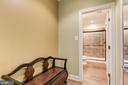 Changing Room - 24018 BURNT HILL RD, CLARKSBURG