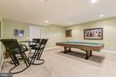 Game Room - 24018 BURNT HILL RD, CLARKSBURG